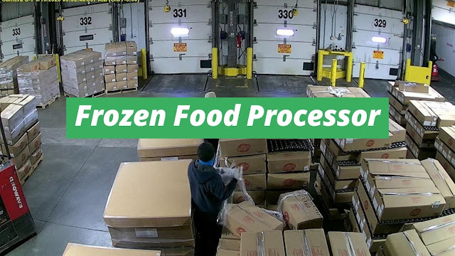 Tightened Security for Protection in Frozen Food Processor