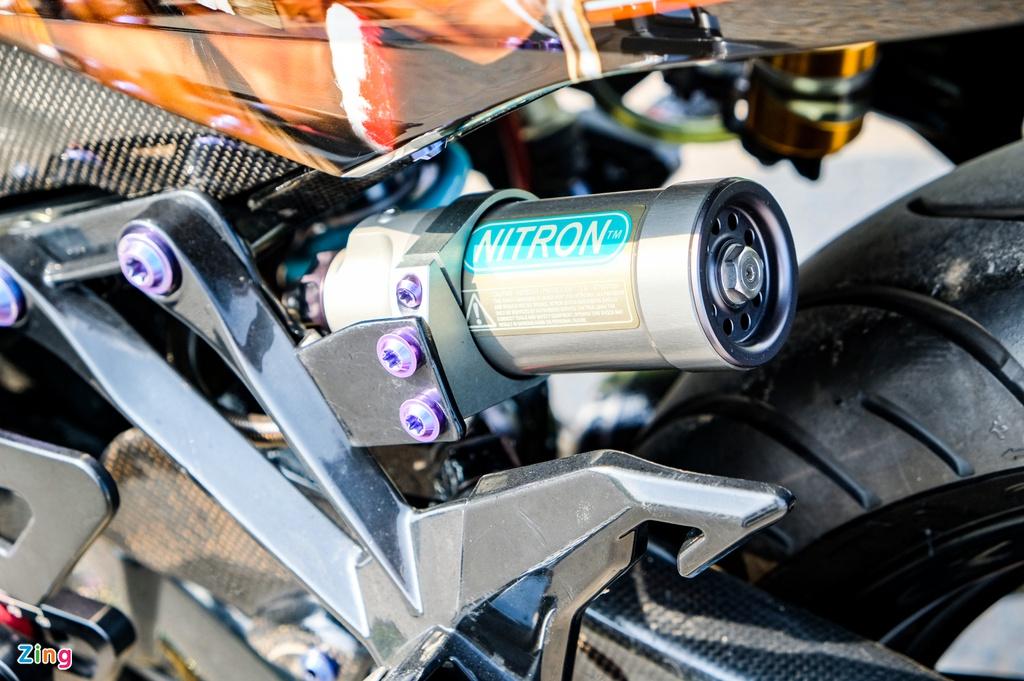 Yamaha Exciter độ theo phong cách thổ dân ở TP.HCM