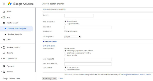 How To Add Google Web Search Box In Blog OR Website