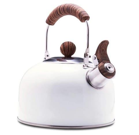ROCKURWOK Tea Kettle Stovetop Whistling Teapot