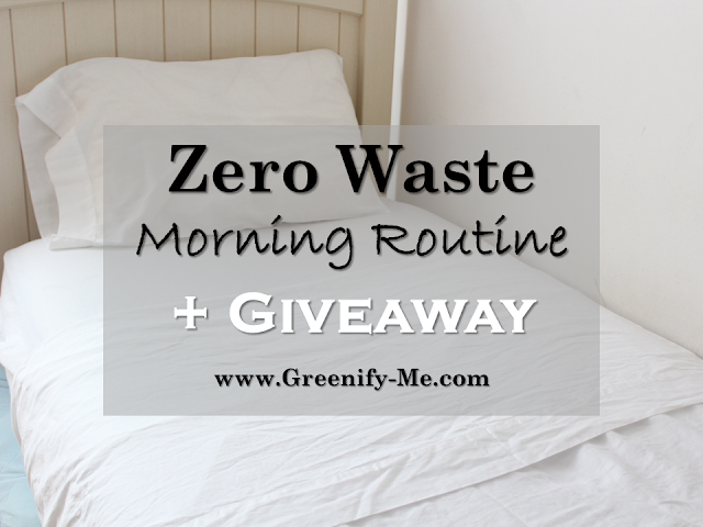 zero waste morning routine