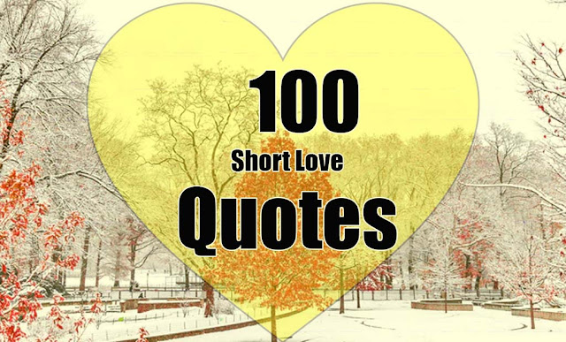 100 Short Love Quotes