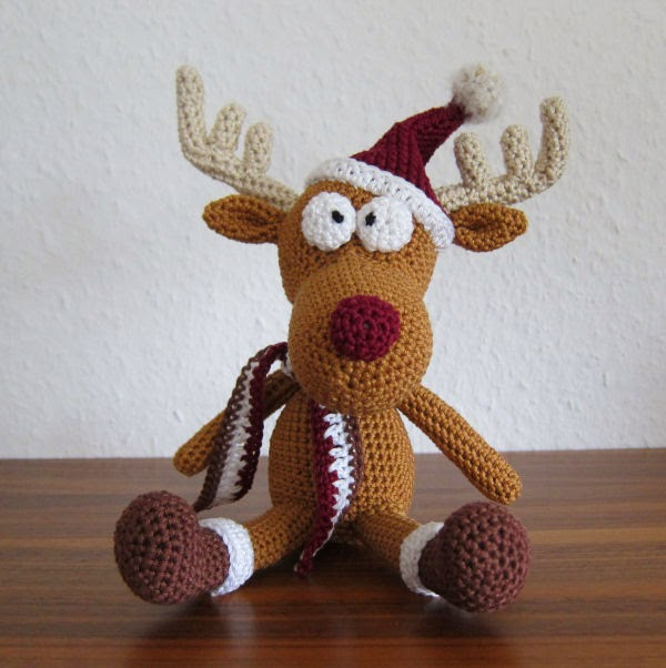 Free Turkey Amigurumi Pattern : Amigurumi deer tobi free pattern patterns