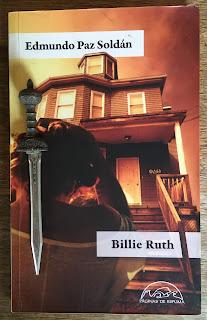 Portada del libro Billie Ruth, de Edmundo Paz Soldán