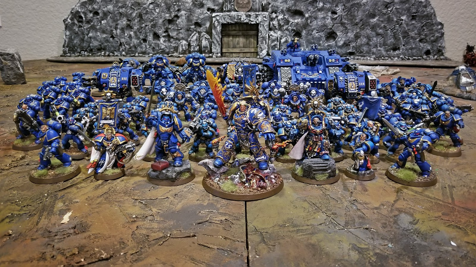 Ultramarines Army Dice Wrath: 201...