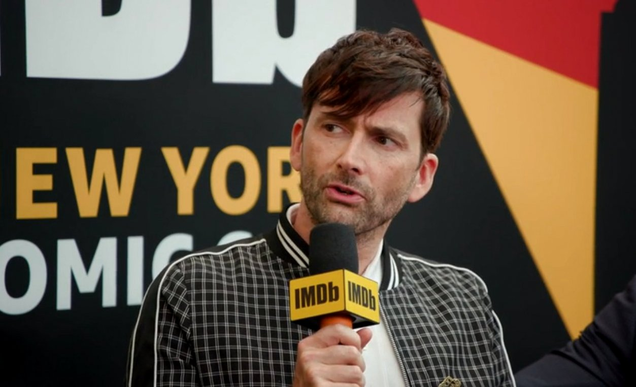VIDEO: Good Omens Cast Talk To Kevin Smith For IMDB