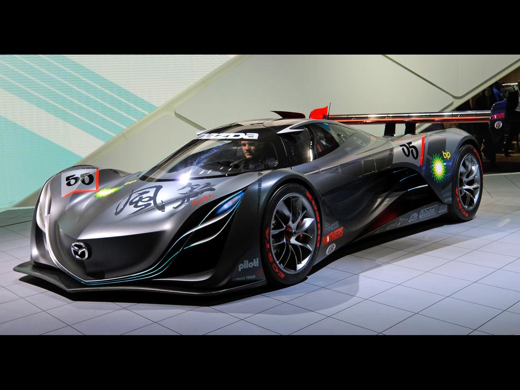 automobile zone mazda furai concept for race car. Black Bedroom Furniture Sets. Home Design Ideas