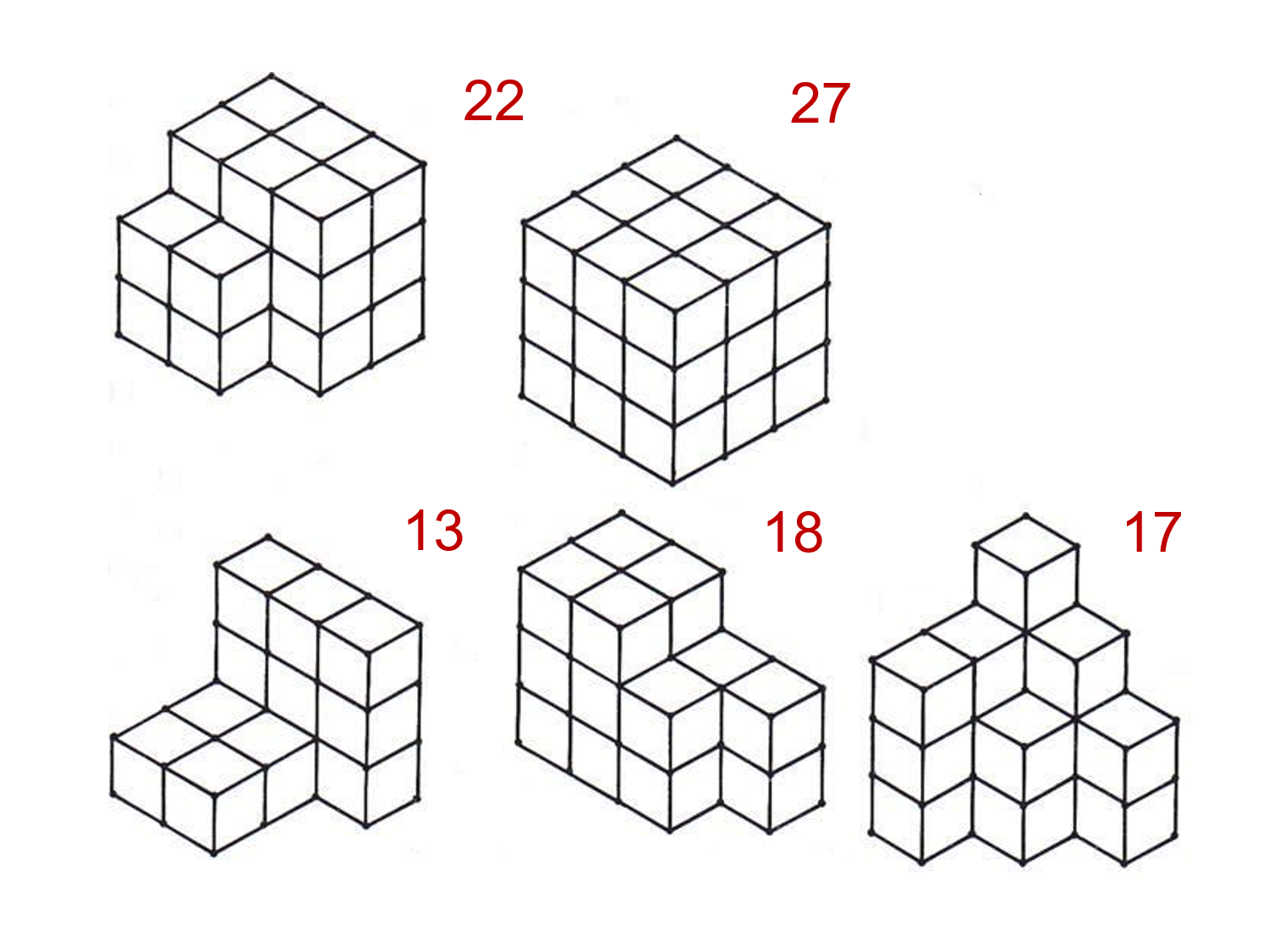 median don steward mathematics teaching  easy cube buildings