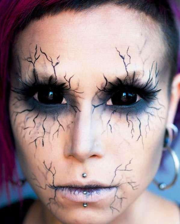 Happy Halloween Day: 30 Halloween Makeup Ideas For Eyes