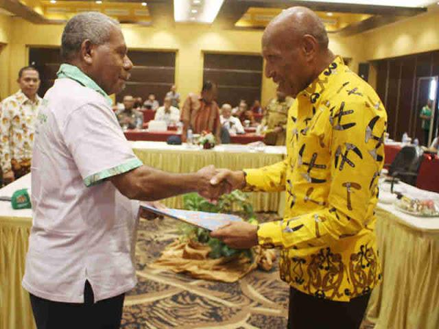 Benhur Tomi Mano Paparkan Strategi Pembangunan Kota Jayapura