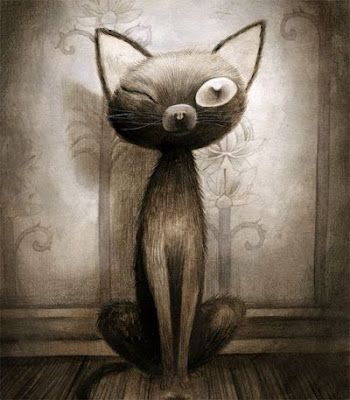 Benjamin Lacombe- Gato Negro- Poe