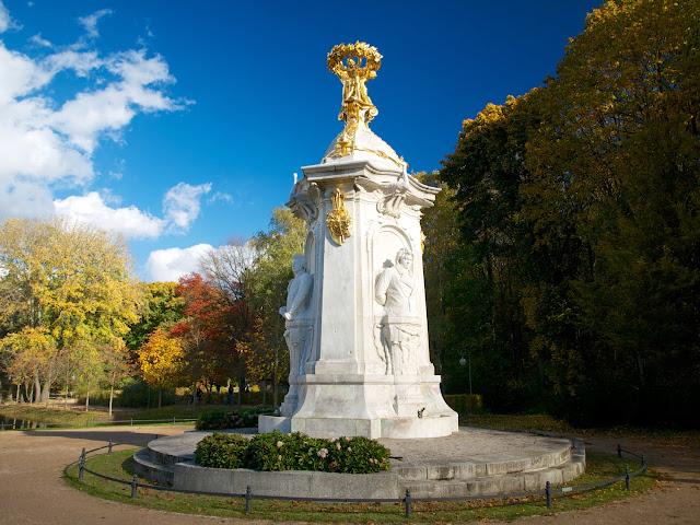 Monumento a los Músicos, Beethoven-Haydn-Mozart, Tiergarten