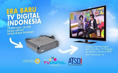 Update Channel Stasiun Siaran TV Digital Di Jabodetabek Maret 2021