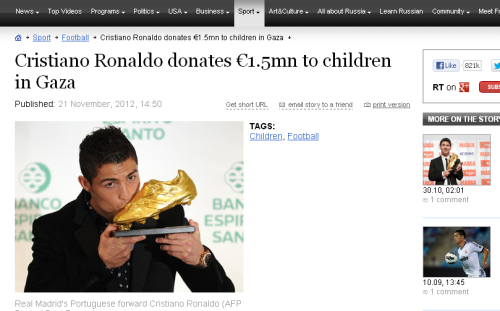 Kata Kata Bijak Inspirasi dari Cristiano Ronaldo