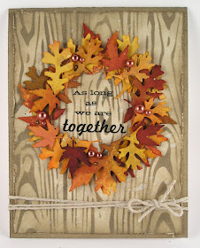Sizzix Fall Foliage Die Ranger Distress Stain Sprays Ranger Layering Stencil Woodgrain For The Funkie Junkie Boutique