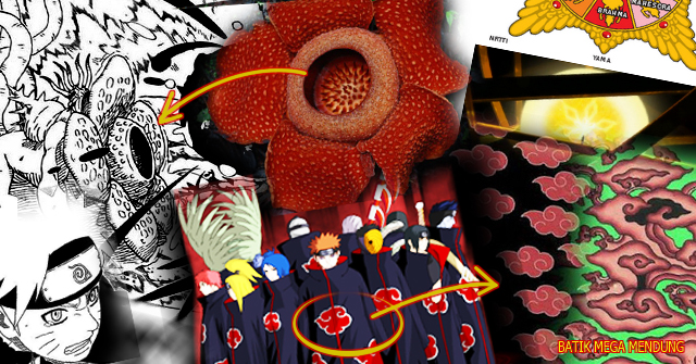 Wah Wah Wah! Ternyata Manga Naruto Terinspirasi Dari Indonesia