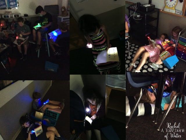 How to motivate your students to ready? Use Flashlight Friday as an incentive. Read blog for more details www.rachelatalldrinkofwater.com