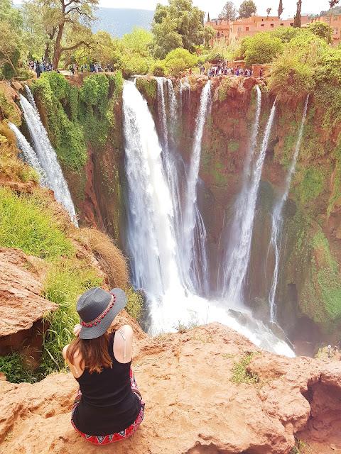 Vodopády Ouzoud, Maroko