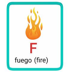 f- alphabet in spanish