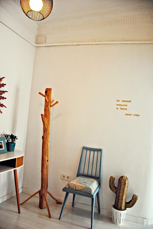 Decoración con muebles recuperados