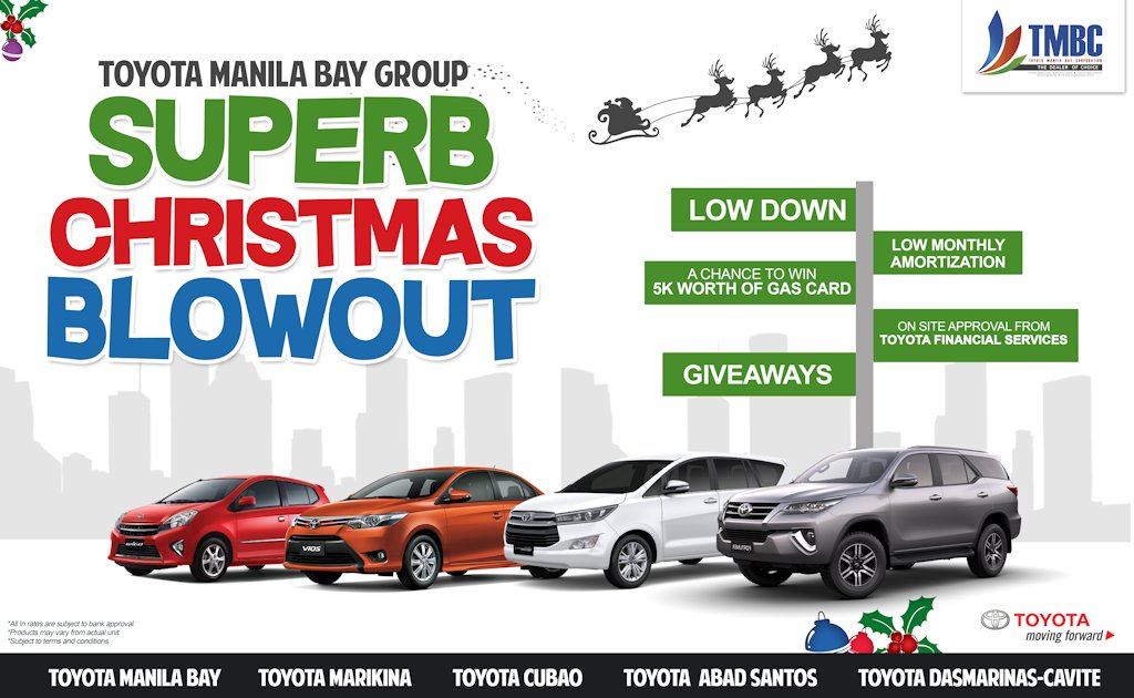 Toyota Manila Bay Group Starts Yuletide Season With Pre