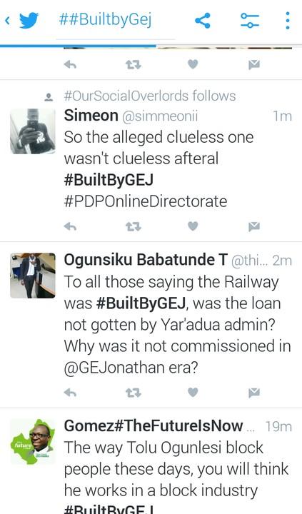 Rail Commissioning: Nigerian React #thankyougej