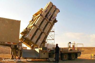 """Batería antimisiles de Israel """"Honda de David"""""""