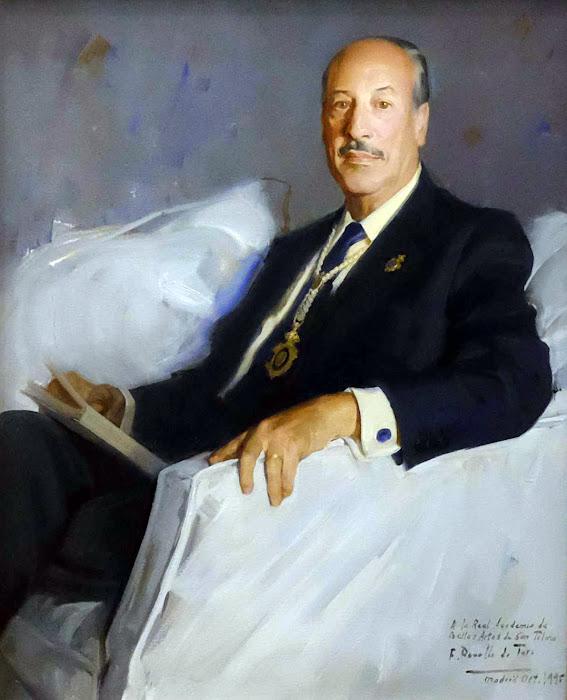 Retrato de Alfonso Canales, Félix Revello de Toro, Retratos de Revello de Toro, Pintor español, Retratista español, Pintores españoles