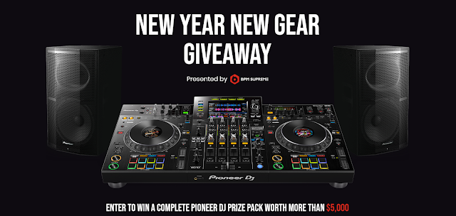 BPM Supreme wants to help you spin in the New Year so they're offering you a chance to enter once to win a complete Pioneer DJ system and more!