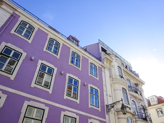 Colourful Buildings in Lisbon