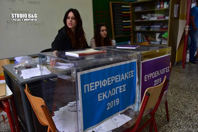 Οι σταυροί των υποψηφίων στην Αργολίδα για τις Περιφερειακές Εκλογές των 5 πρώτων συνδυασμών