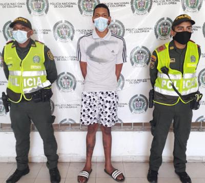 En Valledupar mandaron para la cárcel a un atracador