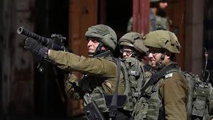 Militer Israel Serbu Tepi Barat Palestina