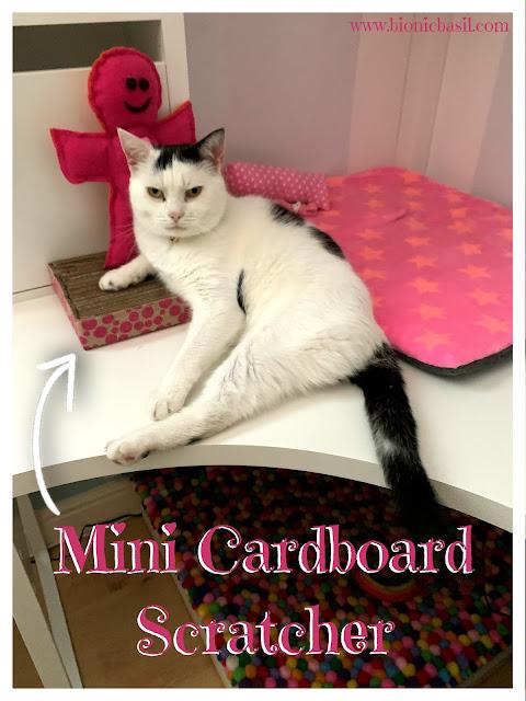 The Mini Cardboard Scratcher and Smooch - The B Team ©BionicBasil® Craft-Fest Day 2