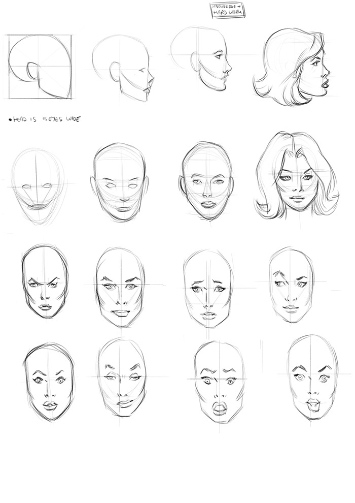 How to draw comics the marvel way study
