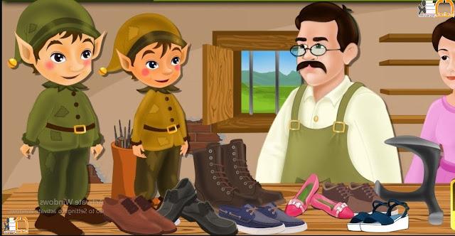 قصص اطفال | قصة صانع الأحذية الفقير وزوجته