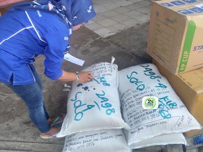 Pengiriman benih padi yang dibeli    EUIS SUTARSIH Sukoharjo, Jateng..    (Via Kereta Api Statsiun Pagaden Baru).