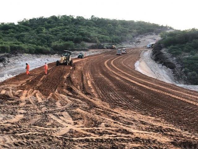 Mauriti: obras da CE-397 avançam