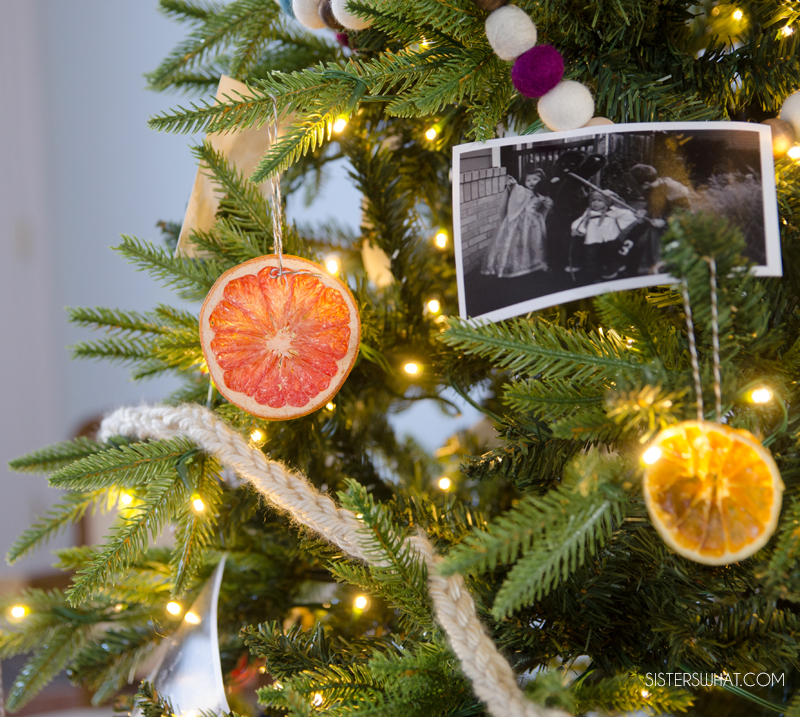 how to dry citrus slices for decorations