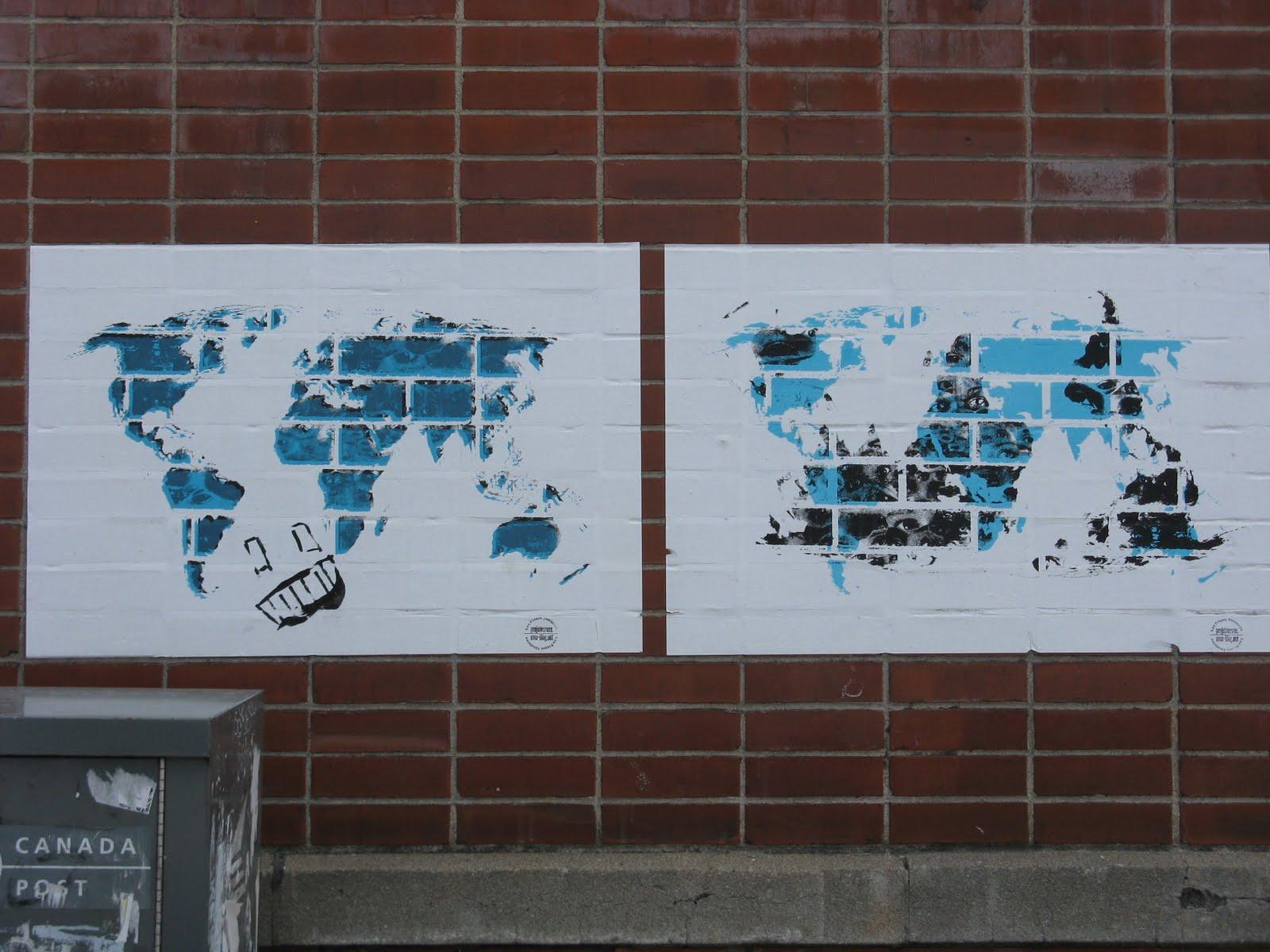 Mapsmontreal C Gwilym Lucas Eades Map 39 Graffiti World Maps At