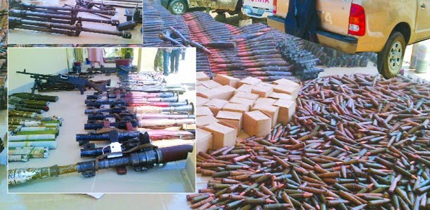 boko haram weapons turkey nigeria