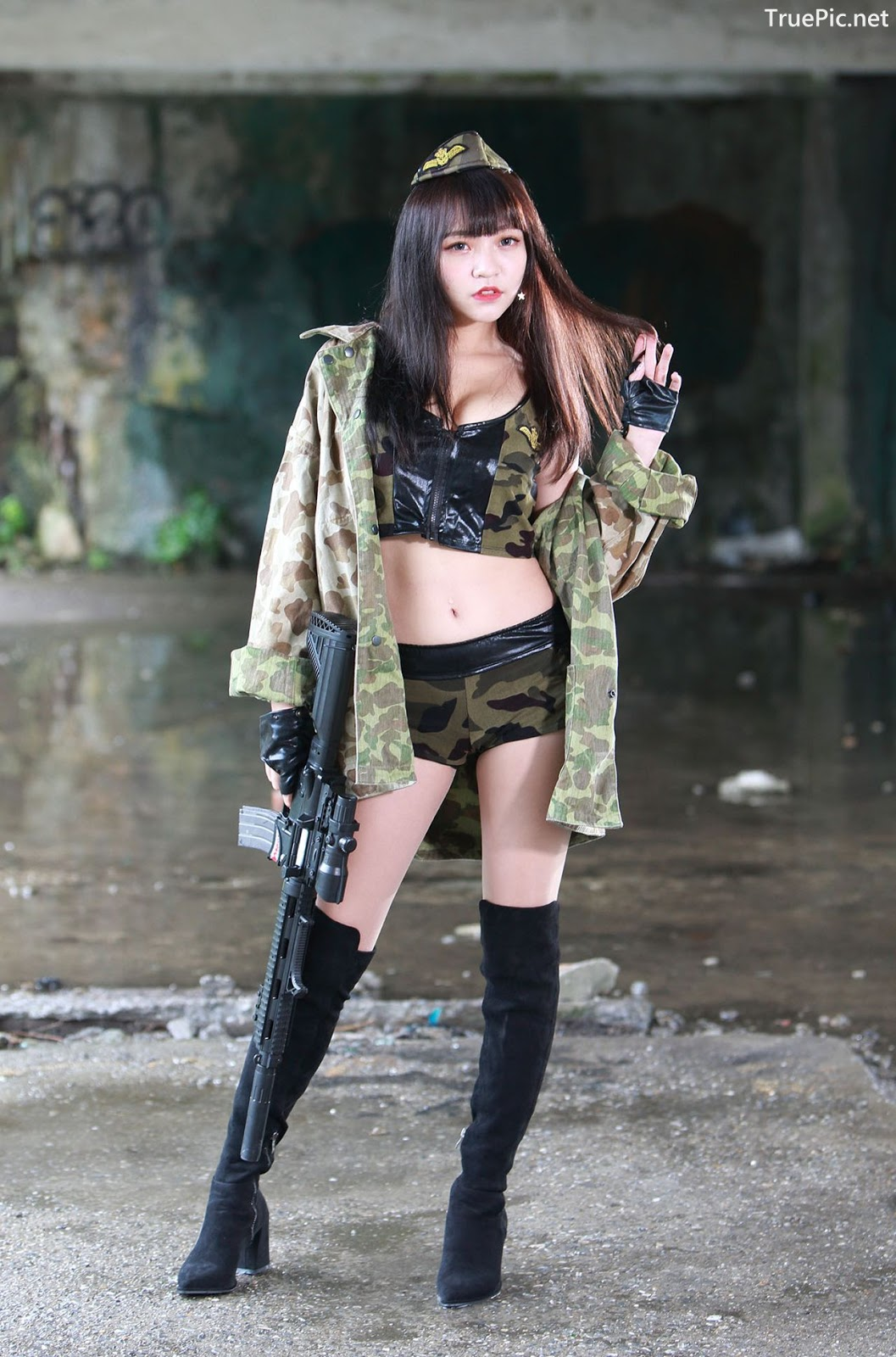 Image-Pretty-Taiwanese-Girl-林襄-Beautiful-And-Sexy-Warrior-Girl-TruePic.net- Picture-8
