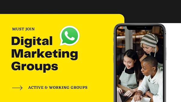 Digital Marketing Whatsapp Groups