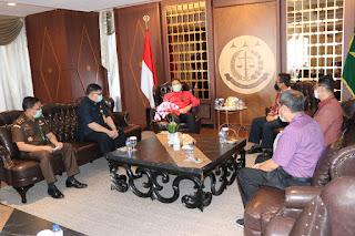 Persiapkan Langkah Kerja Sama Lanjutan, Dirut PT Pos Indonesia Diterima Jaksa Agung Burhanuddin