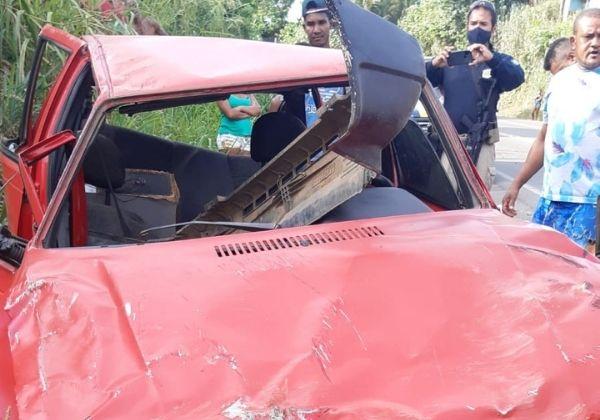 motorista-tenta-fugir-da-policia-rodoviaria-federal-e-capota-carro-na-br-101-em-ubaitaba