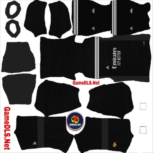 Kit Real Madrid Dream League Soccer GK