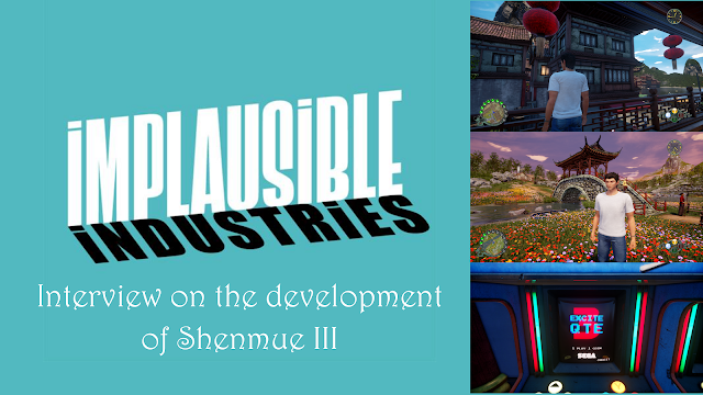 Shenmue 3 Developer Interview with Implausible Industries: