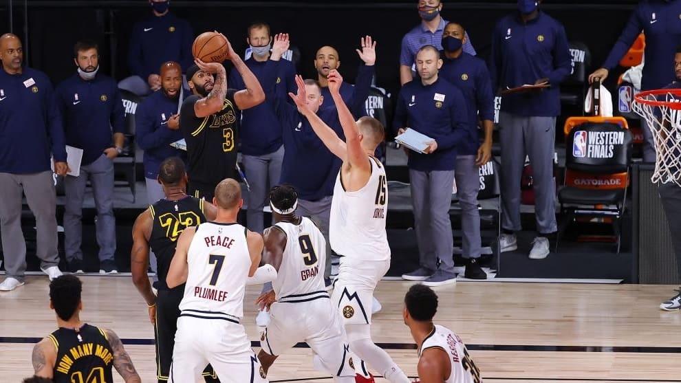 """Denver Nuggets se """"despertó"""" y venció a Los Angeles Lakers en la final del Oeste"""