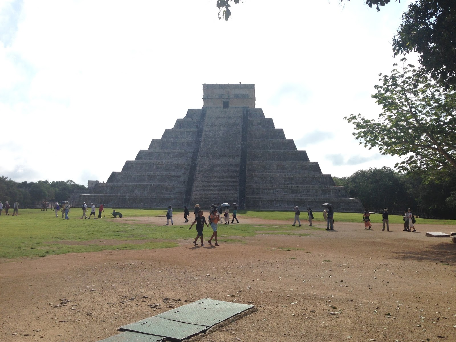 Visiting Chichen Itza