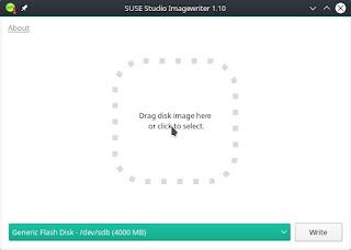 Membuat Bootable Flashdisk Menggunakan Suse Studia ImageWriter pada Linux